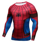 2017 Spider-Man:Homecoming T-Shirt 3D Printing Sport Men's SpiderManT-Shirts New