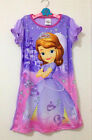 Girls Kids Sofia The First Princess 4-14Y Sleepwear Dress Pajamas Nightgown