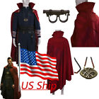 Revengers Cosplay Doctor Strange Robe Necklace Ring Accessories Full Set Costume