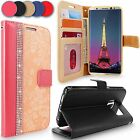 For Samsung Galaxy S8 Luxury PU Leather Wallet Card Slots Flip Stand Case Cover