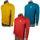 Cosplay Star Trek Beyond Red Captain Kirk Uniform Spock Blue Uniform Scotty Red on eBay