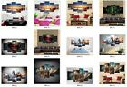 5Pc Modern Home Personality decoration HD print simulation oil painting Unframed