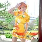 Love Live! August SR Hoshizora Rin Cheongsam Cosplay Costume Custom Size