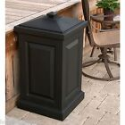NEW BLACK BERKSHIRE STORAGE BIN HOLDS TOWELS, TOYS, BIRD SEED, TOOLS OR ANYTHING