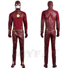 The Flash 2 Barry Allen Cosplay Costume Full Set with Boots