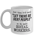 Funny Social Worker Coffee Mug, Gift for Social Workers