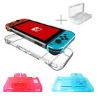 3in1 Clear Crystal protective Case Cover for Nintendo Switch & Card Storage Box