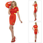 Smiffys Womens Official Licensed 90s Baywatch Lifeguard Hen Fancy Dress Costume