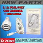 5.1A Dual Port Car Charger For iPhone 6S 5C 4S 5 6 6+ 7 Plus iPad 4 Mini Air Pro