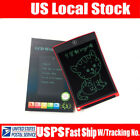3 Colors LCD Writing Pad Notepad Electronic Drawing Tablet Graphics Board 12/8.5