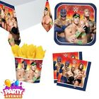 WWE Birthday Party Tableware Napkins Plates Cups Table Covers