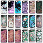 Black Dynamic Liquid Glitter Stars Quicksand TPU bumper Case For iPhone 6s 7+