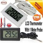 LCD Digital Refrigerator Fridge Freezer Temperature Thermometer FREE DELIVERY UK