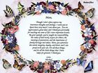 Personalized Mom Poem Print for a Birthday, Mother's Day or Any Occassion