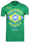 Punishment Athletics Motivation Brazil T-Shirt (Green)