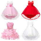 Toddler Baby Girls Princess Flower Wedding Party Pageant  Formal Tutu Dresses