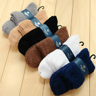 1 Pairs Mens Fluffy Gripper Cosy Socks Super Soft Non Slip Warm Thermal Bed Sock