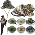 Supreme Camoflauge Hunting Boonie Military Hat Bucket Caps Mens Womens Hats