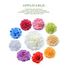 20pcs Artificial Carnation Handmade Silk Fake Flower Head Wedding Home Decor Hot