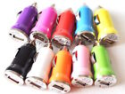 1A LED CAR charger single usb FOR apple iphone 6 plus 4 4s 5 ipod mp3 galaxy s7