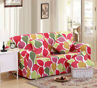 Thick Leave Stretch Fitted Couch Sofa Cover OauL Protector for 1 2 3 4 seater Xm