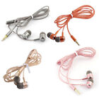 Plastic 3.5mm Male Clear Thin Wire Perfume Smell Earbuds Earphone 1.2M Long