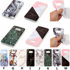 For Samsung Series Phones New Marble Pattern Soft TPU Case Back Cover Skin YH