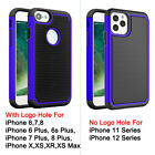 iPhone 11 Pro MAX XR 8 7 6s Plus Heavy Duty Shockproof Case
