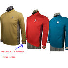Star Trek Beyond Uniform Cos Captain Kirk Uniform Spock Blue Uniform Scotty Red on eBay