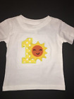 Sunshine My 1st Birthday Embroidered T-Shirt Keepsake Personalized 12 Months