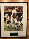 PAUL WARFIELD CLEVLAND BROWNS Autographed Signed CUSTOM FRAMED Photo Matted