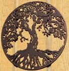 Внешний вид - Tree of Life Metal Wall Art Home Decor Copper Vein