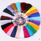 "24 colours 3""1/2 (9cm) Length Fashion Craft Long Tassel Fringe Tassel Trim (A4)"