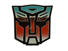 TRANSFORMERS AUTOBOTS LOGO IRON ON SMOOTH HEAT TRANSFER PATCH FOR CLOTHES BAGS