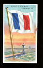 1911 T59 Flags of Nations France Pilot Sub Rosa VG 98670