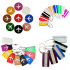 5Pcs Portable Metal Travel Luggage Tags  Suitcase Bag ID Tags Labels Accessories