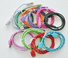lot BRAIDED data cables FOR 3.0 USB hard drives WD my book passport seagate game