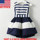 Kids Toddler Baby Girl Princess Dress Party Pageant Prom Tutu Dresses Clothes US