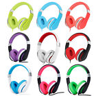 Rockpapa Over Ear Kids Adults Foldable Headphones For Iphone Ipod Kindle Dvd Pc