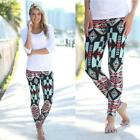 New Women Leggings Print  Casual Stretch Skinny Leggings Long Pants Wild Us