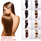6A Grade 100% Remy Real Human Hair Extensions Wire Headband Hair Extensions 160G