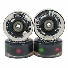 LED Light Up Skate Wheels Fire Fly Set of 8