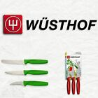 Wusthof Zest 3 Piece Peeling, Paring & Serrated Knife