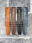 IWC 20mm Leather Strap Black Blue Brown Watch Band Pilot Portuguese Small Short