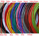 5M UL1015 PVC Tinned Stranded Wire Cable Cord 10/12/14/16/18/20/22/24 AWG 600V
