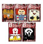 PERSONALISED HORROR INSPIRED BIRTHDAY CARD (HALLOWEEN/WALKING/ZOMBIE/DEAD)