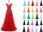 New Formal Long Chiffon Evening Ball Gown Party Prom Bridesmaid Dress Size 6-22