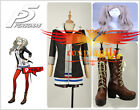 Persona 5 Anne Takamaki Dress Cosplay Costume Shoes Wig Custom Five Theme