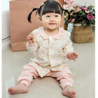 Baby Floral Cotton Lounge Wear Girlish style Made in Korea