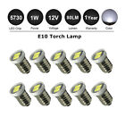E10 2SMD LED Bulbs Screw Fit Replaces Smiths Interior Gauges For 12V Classic Car